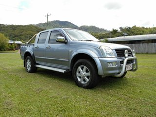2004 Holden Rodeo LT (4x4) Crew Cab Pickup.