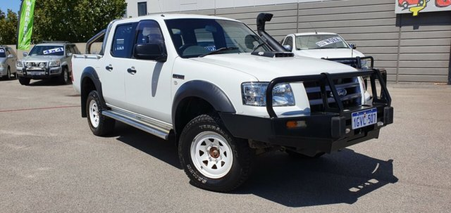 Used Ford Ranger XL (4x4), Victoria Park, 2008 Ford Ranger XL (4x4) Dual Cab Pick-up