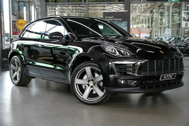Used Porsche Macan S PDK AWD, North Melbourne, 2018 Porsche Macan S PDK AWD Wagon