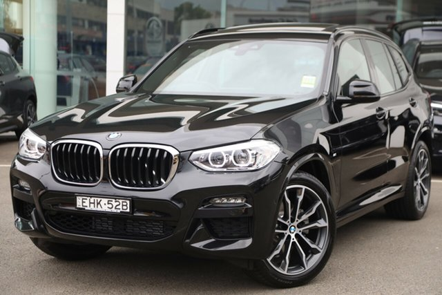 Demonstrator, Demo, Near New BMW X3 xDrive20d M Sport, Brookvale, 2019 BMW X3 xDrive20d M Sport Wagon