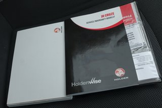 2013 Holden Cruze CD Sedan.