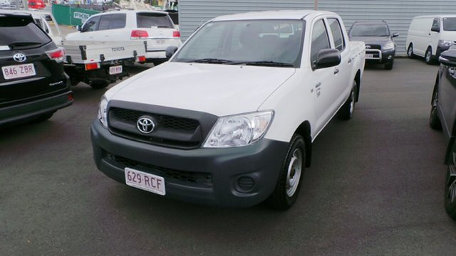 Used Toyota Hilux Workmate 4x2, Morayfield, 2010 Toyota Hilux Workmate 4x2 Utility