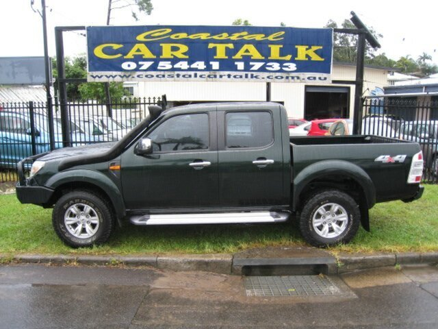 Used Ford Ranger XLT (4x4), Nambour, 2011 Ford Ranger XLT (4x4) Dual Cab Pick-up