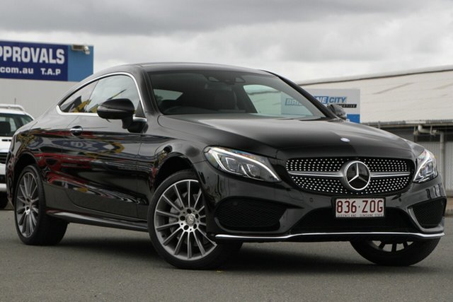 Used Mercedes-Benz C-Class C250 d 9G-Tronic, Toowong, 2016 Mercedes-Benz C-Class C250 d 9G-Tronic Coupe