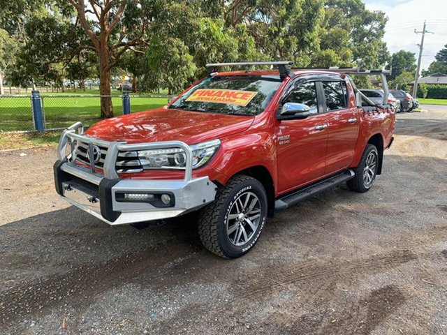 Used Toyota Hilux SR5 Double Cab, Cranbourne, 2015 Toyota Hilux SR5 Double Cab Utility