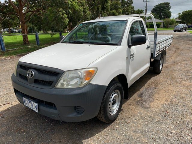 Used Toyota Hilux Workmate 4x2, Cranbourne, 2007 Toyota Hilux Workmate 4x2 Cab Chassis