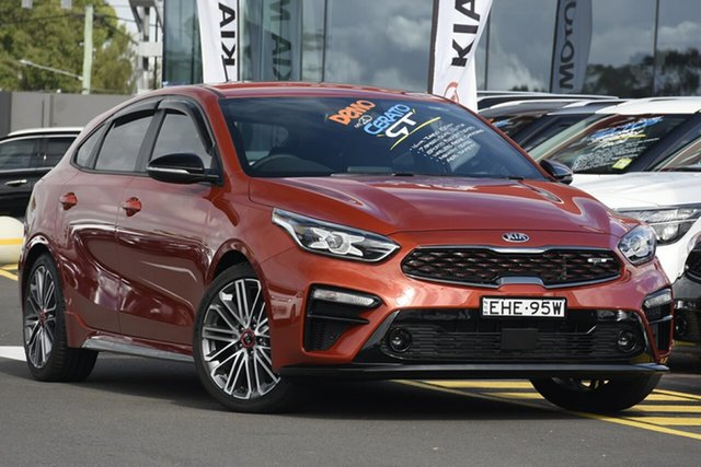 Demonstrator, Demo, Near New Kia Cerato GT Safety Pack, Warwick Farm, 2020 Kia Cerato GT Safety Pack Hatchback