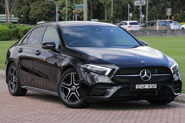 Discounted Demonstrator, Demo, Near New Mercedes-Benz A-Class A200 DCT, Warwick Farm, 2019 Mercedes-Benz A-Class A200 DCT Sedan