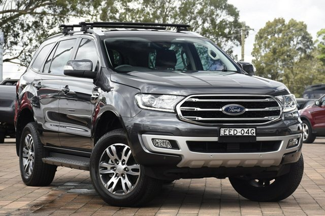 Used Ford Everest Trend 4WD, Warwick Farm, 2019 Ford Everest Trend 4WD Wagon