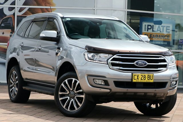 Discounted Used Ford Everest Trend RWD, Warwick Farm, 2018 Ford Everest Trend RWD SUV