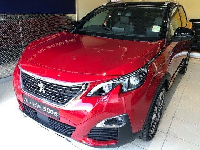 New Peugeot 3008 GT Line SUV, Nambour, 2019 Peugeot 3008 GT Line SUV P84 MY20 Hatchback
