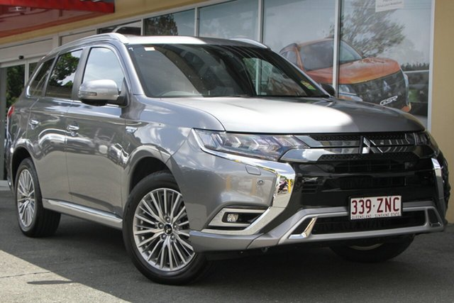 Demonstrator, Demo, Near New Mitsubishi Outlander PHEV AWD Exceed, Toowong, 2019 Mitsubishi Outlander PHEV AWD Exceed ZL MY20 Wagon