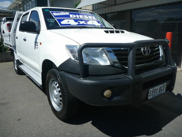 Used Toyota Hilux SR Double Cab, Edwardstown, 2014 Toyota Hilux SR Double Cab Utility