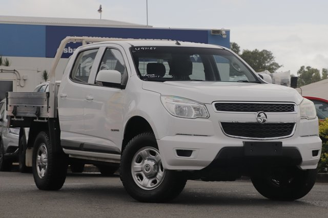 Used Holden Colorado LS 4x2, Toowong, 2016 Holden Colorado LS 4x2 Cab Chassis