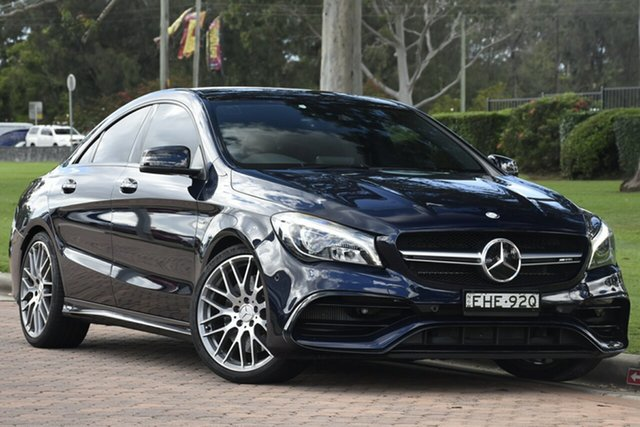 Used Mercedes-Benz CLA-Class CLA45 AMG SPEEDSHIFT DCT 4MATIC, Warwick Farm, 2017 Mercedes-Benz CLA-Class CLA45 AMG SPEEDSHIFT DCT 4MATIC Coupe