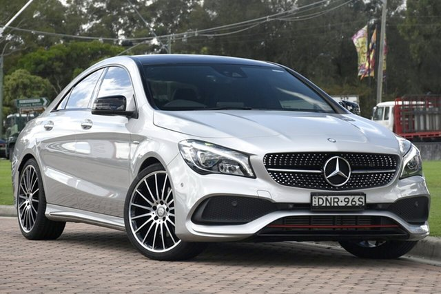 Used Mercedes-Benz CLA-Class CLA250 DCT 4MATIC Sport, Warwick Farm, 2017 Mercedes-Benz CLA-Class CLA250 DCT 4MATIC Sport Coupe
