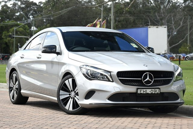 Used Mercedes-Benz CLA-Class CLA200 DCT, Warwick Farm, 2017 Mercedes-Benz CLA-Class CLA200 DCT Coupe