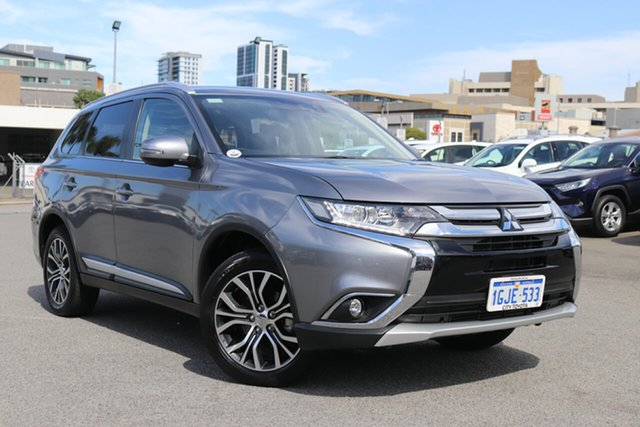 Used Mitsubishi Outlander LS 4WD Safety Pack, Northbridge, 2016 Mitsubishi Outlander LS 4WD Safety Pack Wagon