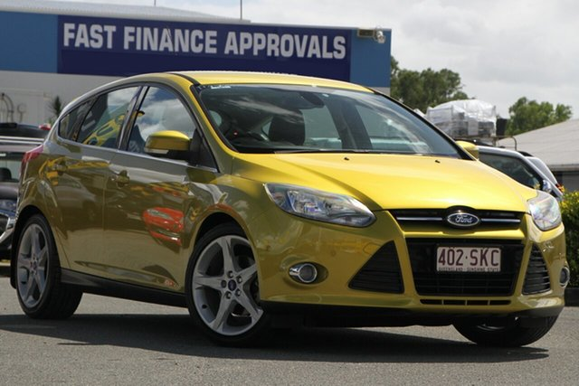 Used Ford Focus Titanium PwrShift, Toowong, 2012 Ford Focus Titanium PwrShift Hatchback