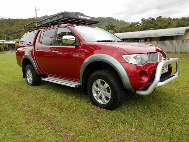 Used Mitsubishi Triton VR (4x4), Cairns, 2008 Mitsubishi Triton VR (4x4) Double Cab Utility