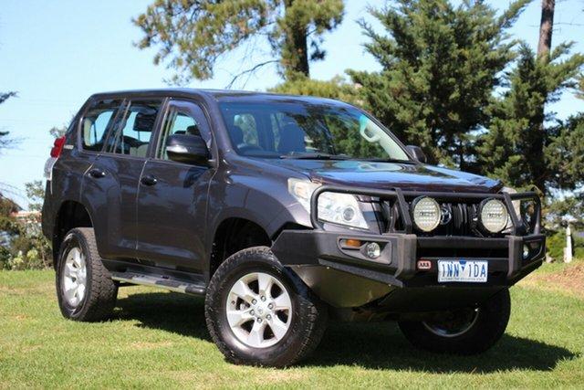 Used Toyota Landcruiser Prado GX, Officer, 2010 Toyota Landcruiser Prado GX Wagon