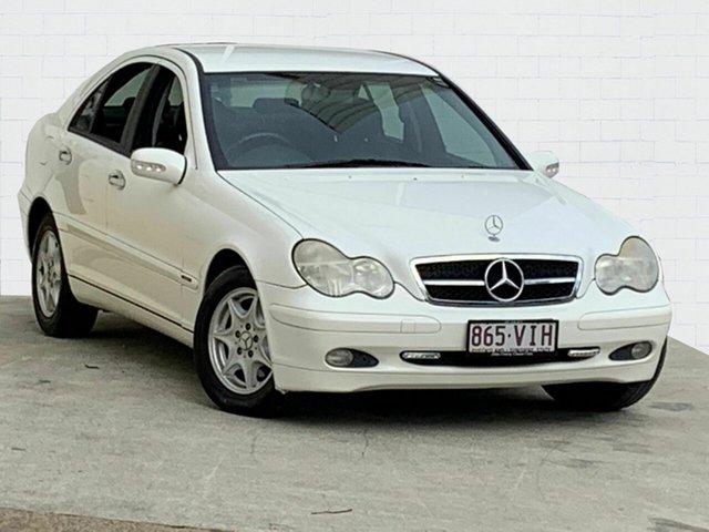 Used Mercedes-Benz C200 Kompressor Classic, Moorooka, 2002 Mercedes-Benz C200 Kompressor Classic Sedan