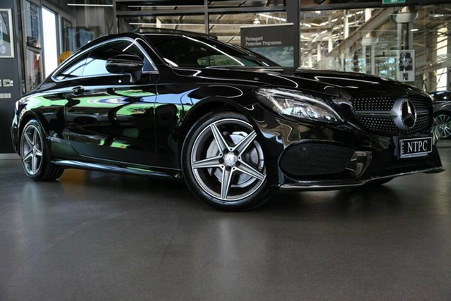 Used Mercedes-Benz C-Class C200 7G-Tronic +, North Melbourne, 2016 Mercedes-Benz C-Class C200 7G-Tronic + Coupe