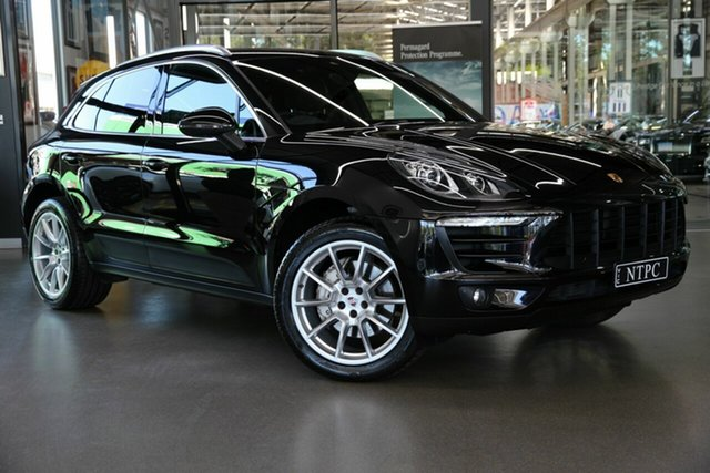 Used Porsche Macan S PDK AWD Diesel, North Melbourne, 2015 Porsche Macan S PDK AWD Diesel Wagon