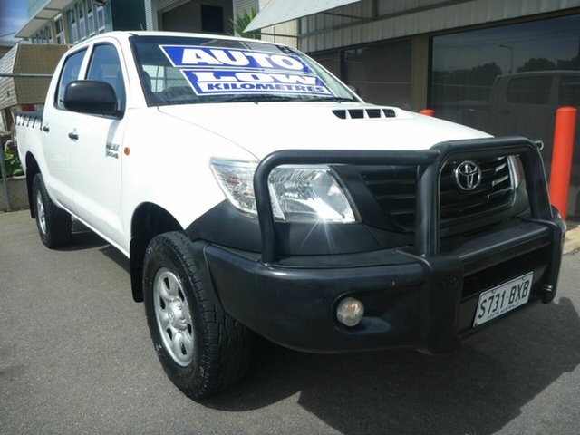 Used Toyota Hilux Workmate Double Cab, Edwardstown, 2011 Toyota Hilux Workmate Double Cab Utility
