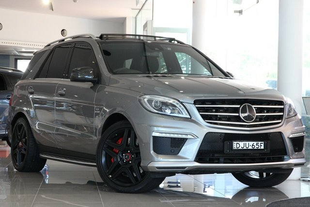 Used Mercedes-Benz M-Class ML63 AMG SPEEDSHIFT DCT, Artarmon, 2013 Mercedes-Benz M-Class ML63 AMG SPEEDSHIFT DCT Wagon