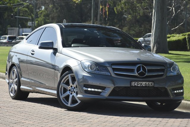 Used Mercedes-Benz C-Class C250 7G-Tronic +, Warwick Farm, 2013 Mercedes-Benz C-Class C250 7G-Tronic + Coupe