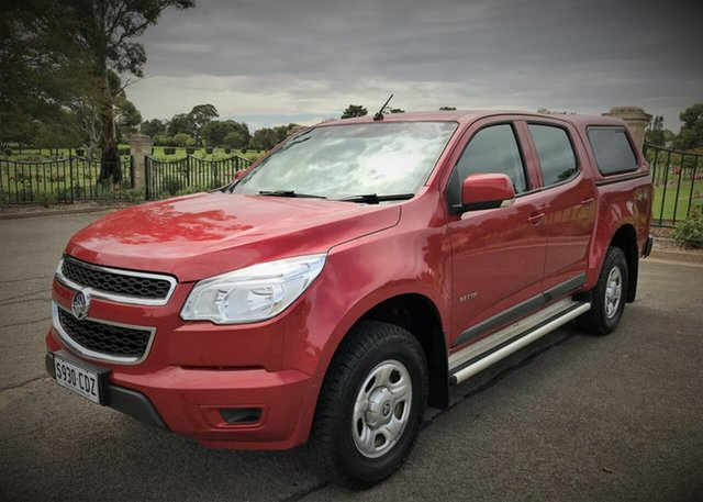 Used Holden Colorado LX Crew Cab, Enfield, 2012 Holden Colorado LX Crew Cab Utility