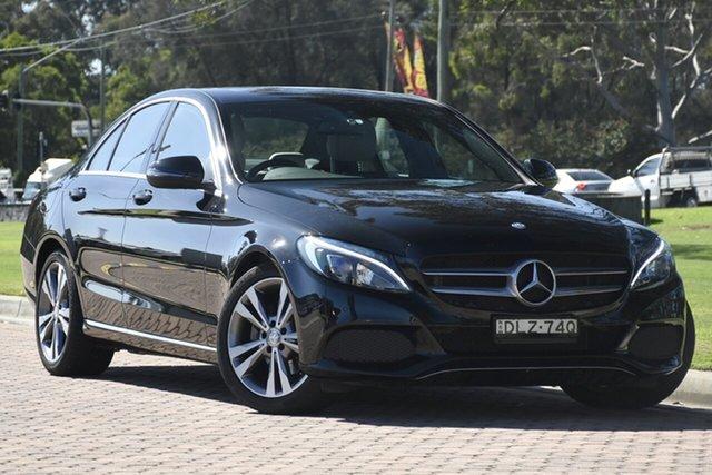 Used Mercedes-Benz C-Class C200 7G-Tronic +, Warwick Farm, 2016 Mercedes-Benz C-Class C200 7G-Tronic + Sedan
