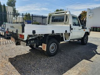 2016 Toyota Landcruiser Workmate (4x4) Cab Chassis.