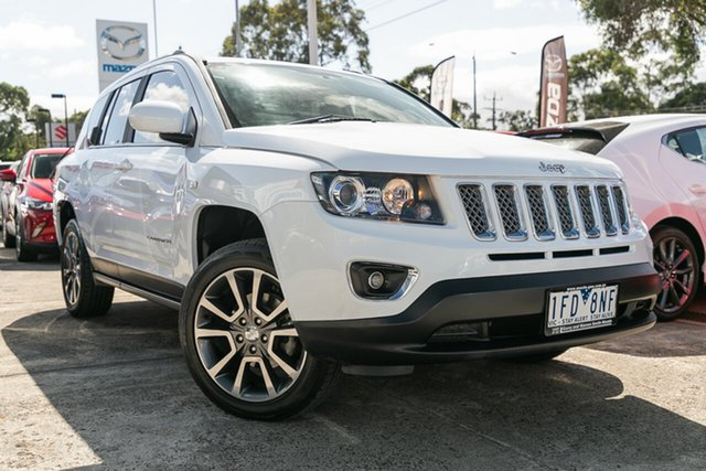 Used Jeep Compass Limited (4x4), Mulgrave, 2015 Jeep Compass Limited (4x4) MK MY16 Wagon