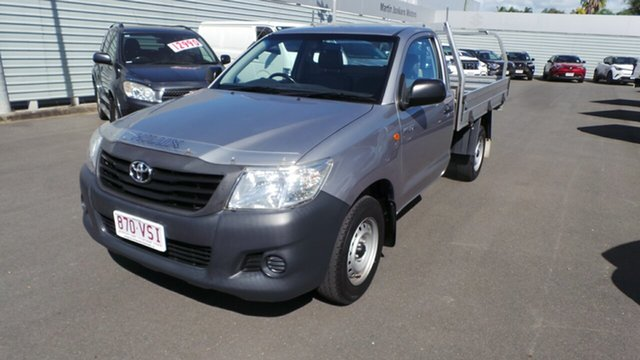 Used Toyota Hilux Workmate 4x2, Morayfield, 2015 Toyota Hilux Workmate 4x2 Cab Chassis