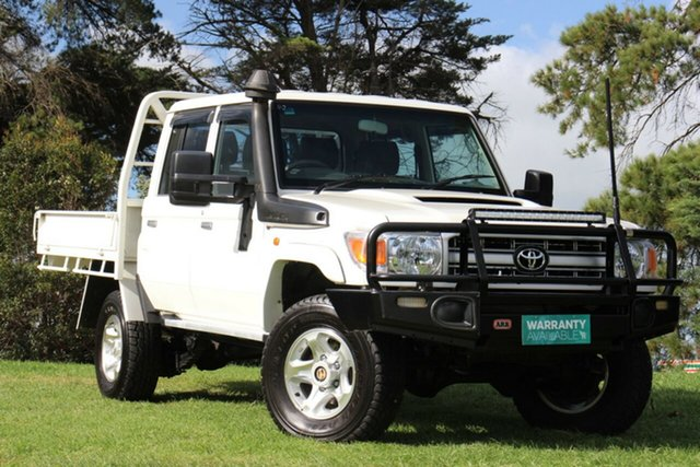 Used Toyota Landcruiser Workmate Double Cab, Officer, 2016 Toyota Landcruiser Workmate Double Cab Cab Chassis