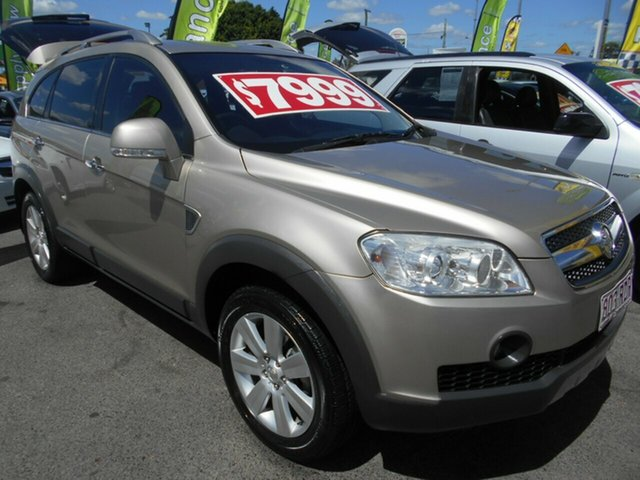 Used Holden Captiva LX AWD, Slacks Creek, 2009 Holden Captiva LX AWD Wagon