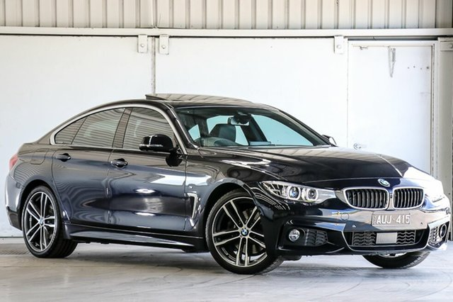 Used BMW 4 Series 430i Gran Coupe M Sport, Laverton North, 2017 BMW 4 Series 430i Gran Coupe M Sport Hatchback