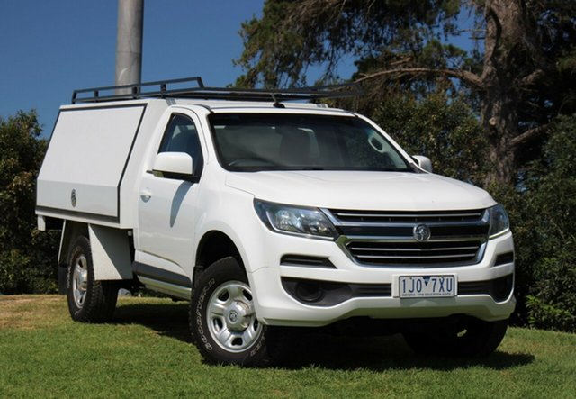 Used Holden Colorado LS 4x2, Officer, 2017 Holden Colorado LS 4x2 Cab Chassis