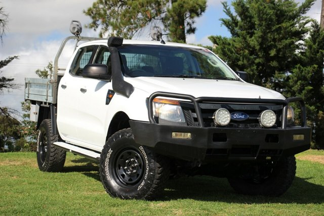 Used Ford Ranger XL Double Cab, Officer, 2012 Ford Ranger XL Double Cab Cab Chassis