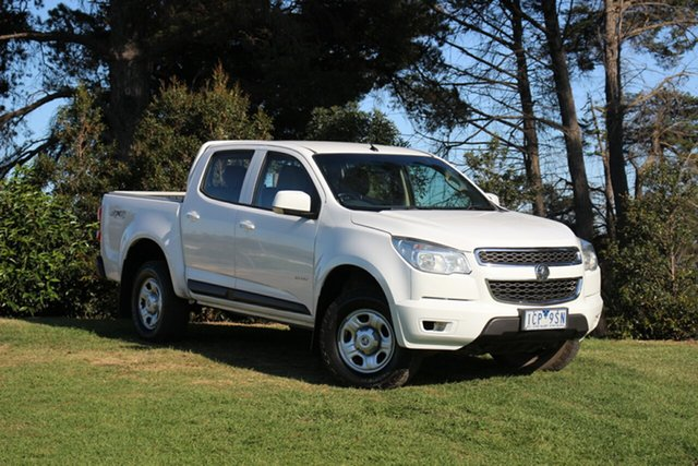 Used Holden Colorado LX Crew Cab, Officer, 2014 Holden Colorado LX Crew Cab Utility