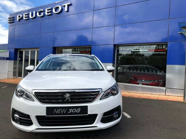 New Peugeot 308 Allure Touring, Nambour, 2019 Peugeot 308 Allure Touring T9 MY20 Wagon