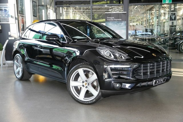 Used Porsche Macan S PDK AWD, North Melbourne, 2015 Porsche Macan S PDK AWD Wagon