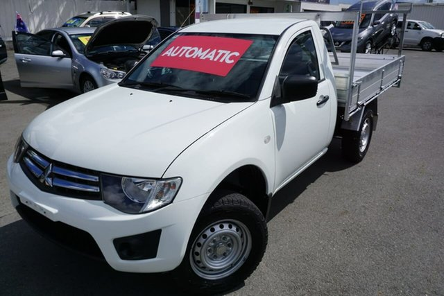 Used Mitsubishi Triton GLX 4x2, Moorooka, 2014 Mitsubishi Triton GLX 4x2 Cab Chassis