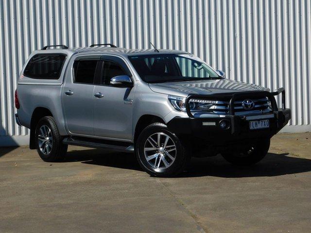 Used Toyota Hilux SR5 (4x4), Sebastopol, 2017 Toyota Hilux SR5 (4x4) Dual Cab Utility