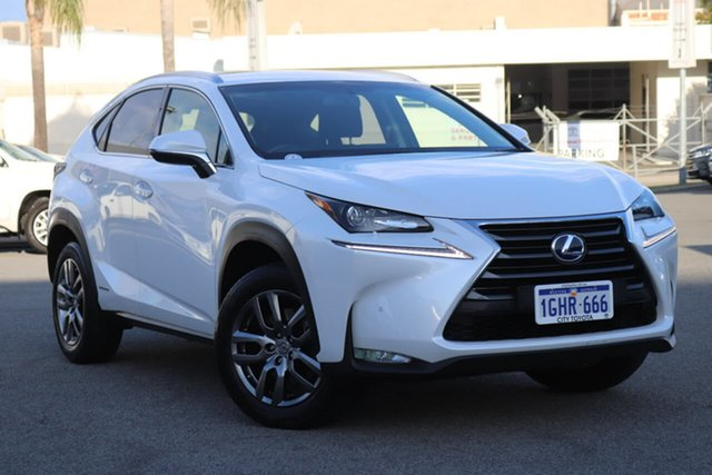 Used Lexus NX NX300h E-CVT 2WD Luxury, Northbridge, 2017 Lexus NX NX300h E-CVT 2WD Luxury Wagon