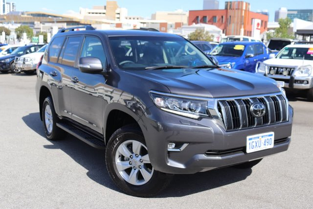 Used Toyota Landcruiser Prado GXL, Northbridge, 2019 Toyota Landcruiser Prado GXL Wagon