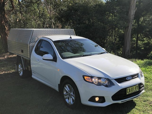 Used Ford Falcon XR6 Super Cab, Queanbeyan, 2014 Ford Falcon XR6 Super Cab Cab Chassis