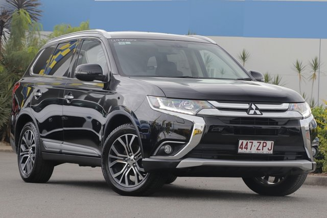 Used Mitsubishi Outlander Exceed 4WD, Bowen Hills, 2015 Mitsubishi Outlander Exceed 4WD Wagon